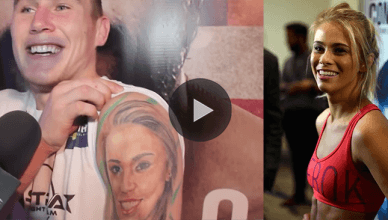 After his big win over Donald Cerrone, UFC welterweight star Darren Till answers questions about his tattoo of UFC star Paige VanZant.