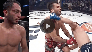 Former UFC middleweight Gegard Mousasi earned a very controversial decision victory against former Bellator middleweight champion, Alexander Shlemenko.