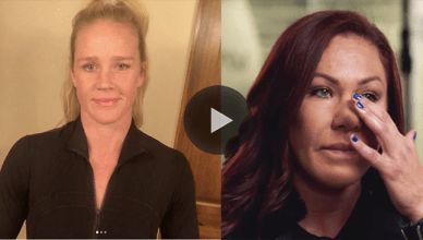 Holly Holm just fired back at UFC featherweight champion Cris Cyborg after she complained that she was being drug tested more than her.