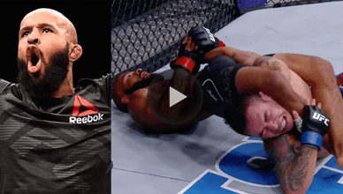 UFC flyweight champion Demetrious Johnson made UFC history and broke Anderson Silva's UFC title defense record with an insane flying armbar win at UFC 216.