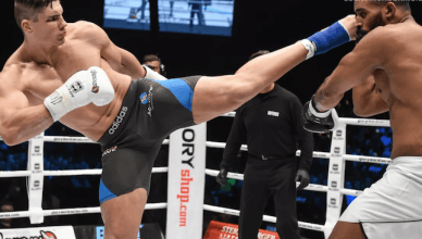 "Former UFC heavyweight Antonio ""Bigfoot"" Silva was stopped by Glory Kicboxing champ Rico Verhoeven, but would like him to rematch him in MMA."