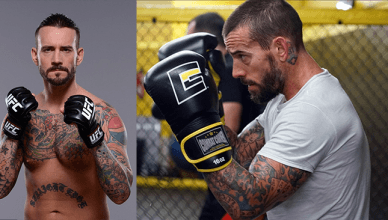 Former WWE champion CM Punk is making his way back to the octagon for another fight and has already started training camp.