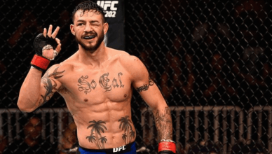 One of the top UFC featherweights in the world, Cub Swanson.