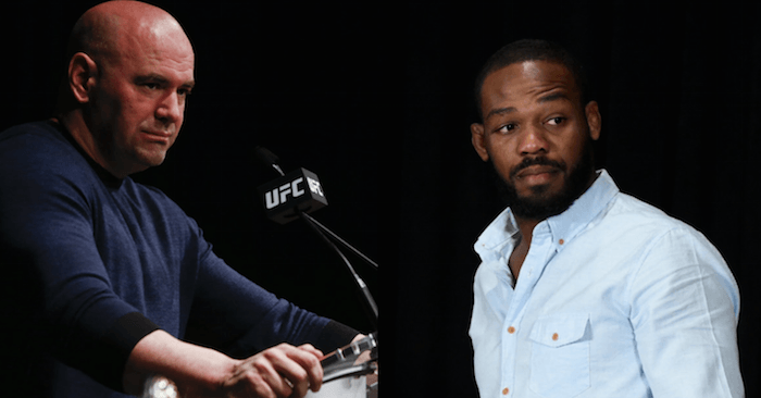 UFC boss Dana White and Jon Jones