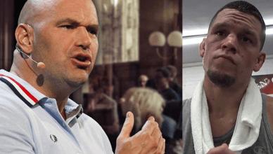 "UFC President Dana White blasts the internet for ""bullsh*t"" Nate Diaz, and says UFC lightweight champ Conor McGregor must fight Tony Ferguson next."