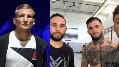 T.J. Dillashaw and Cody Garbrandt both once trained at Team Alpha Male.