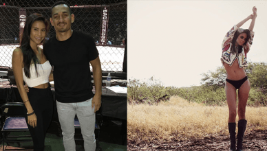 """Current, reigning, UFC featherweight champ Max Holloway was on """"The MMA Hour"""" talking very proudly about his NEW super model girlfriend."""