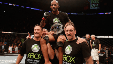 Current UFC flyweight champion Demetrious Johnson says at UFC 216 he'll finish Ray Borg, break the record, and make history