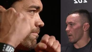 Lyoto Machida was really angry at UFC welterweight contender Colby Covington for his disparaging comments towards the Brazilian fans in Sao Paulo..