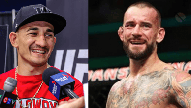 UFC featherweight champion Max Holloway thinks that UFC lightweight champion Conor McGregor should fight someone like CM Punk for his next fight.