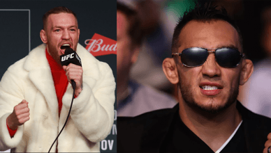 UFC President Dana White confirms that interim lightweight champ Tony Ferguson will fight reigning lightweight champion Conor McGregor.