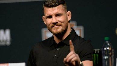 Former UFC middleweight champion Michael Bisping.