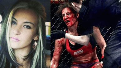 Former UFC bantamweight champion Miesha Tate pulls no punches when talking about unethical fans trying to make money off her blood.