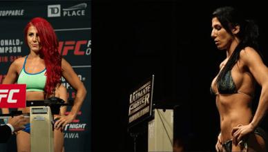 UFC female fighter Randa Markos.