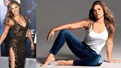 Former UFC bantamweight champion Ronda Rousey