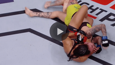 Mara Romero Borella defeated Kalindra Faria by submission at UFC 216.