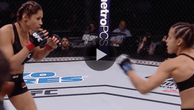 UFC strawweight contender Pearl Gonzalez decided to try takedowns for three consecutive rounds.