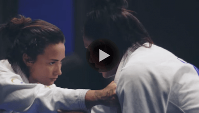 Pop star Demi Lovato jus released her own BJJ training highlight where she's going against a legit Brazilian jiu-jitsu black belt.