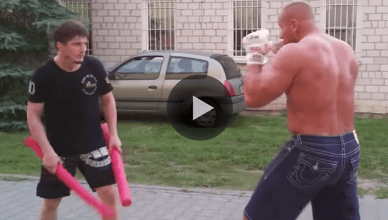 The World's strongest man is headed back to MMA as Mariusz Pudzianowski has resumed his training.