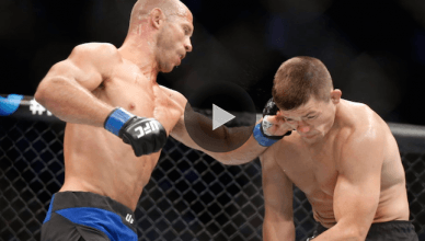 Check out Donald Cerrone pulling off one of his highlight reel knockouts against UFC's Rick Story.