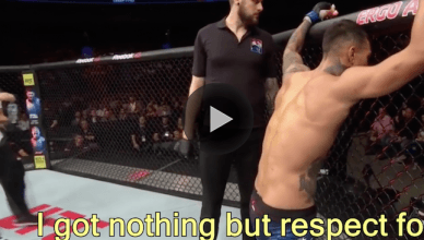 Look at the new footage showing every word Andre Fili told UFC lightweight champ Conor McGregor after beating his teammate at UFC Fight Night 118.