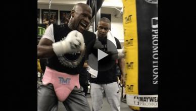 Boxing king Floyd Mayweather.