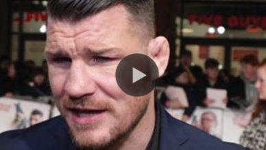 UFC middleweight champion Michael Bisping gave his honest reaction.