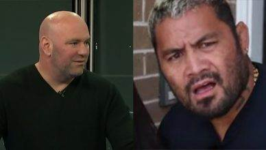 "UFC President Dana White says Mark Hunt is calling ""Fake News"" on his own story, and explains what Hunt needs to do if he wants to fight again."