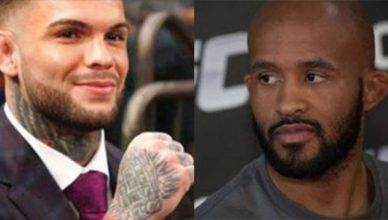UFC bantamweight champ Cody Garbrandt has some big plans, one of which is challenging Demetrious Johnson for the UFC flyweight title.