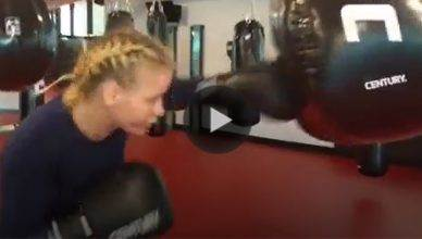 UFC bantamweight contender Valentina Shevchenko is getting ready to make her drop to the flyweight (125lbs) division.