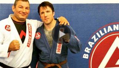 Chael Sonnen gets his BJJ brown belt.