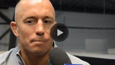 UFC welterweight and middleweight star Georges St. Pierre.