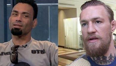 10th Planet Jiu-jitsu coach Eddie Bravo says Tony Ferguson might just take the UFC lightweight champ Conor McGregor down and strangle him.