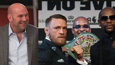 "Conor McGregor vs. Floyd Mayweather rematch? UFC boss Dana White says it's still possible and ""never say never"""