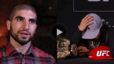 MMAfighting.com's Ariel Helwani brought the UFC strawweight champ Joanna Jedrzejczyk to tears with his line of questioning.