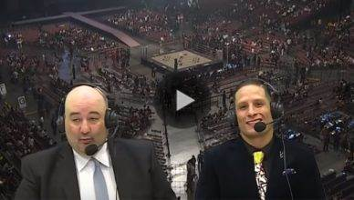An MMA commentator for Rizin is now in hot water for the sexist comments he made while calling a fight on live television.