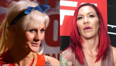 Former UFC and Invicta female fighter Cindy Dandois offers to fight UFC featherweight champion Cris Cyborg and get drug tested every day.