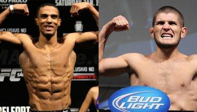 The UFC has officially offered top ranked UFC lightweight Edson Barboza a fight against undefeated UFC lightweight contender Khabib Nurmagomedov.