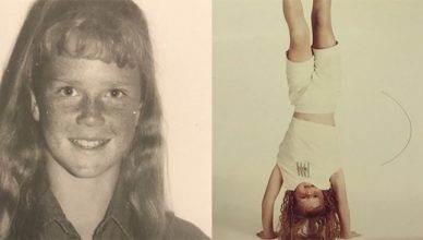 A rare photo gallery of former UFC bantamweight champion Holly Holm as a very young girl was just released on social media.
