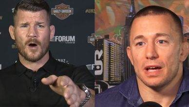 Michael Bisping continues to fire shots at GSP.