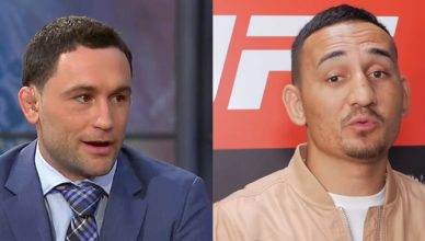 Frankie Edgar and Max Holloway.