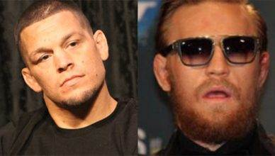 Nate Diaz and Conor McGregor.