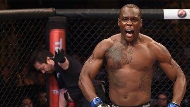 UFC light heavyweight contender Ovince Saint Preux (OSP) .