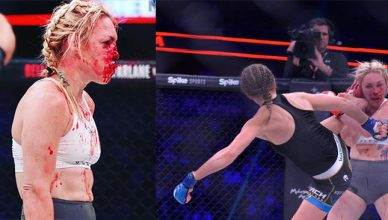Former boxing world champion Heather Hardy breaks her silence after being bloodied and dominated during her Bellator 185 MMA fight.