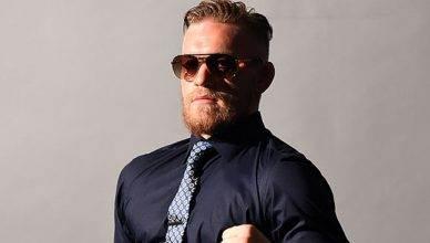 UFC lightweight Conor McGregor.