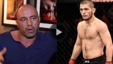 Joe Rogan just leaked the big return fight for top ranked UFC lightweight contender Khabib Nurmagomedov.