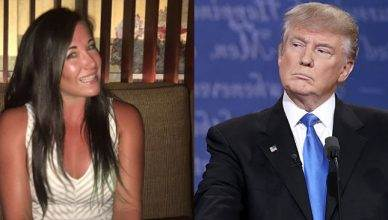 UFC strawweight fighter Angela Magana was trying to get UFC President Dana White to help Hurricane Maria victims but has now moved onto Donald Trump.