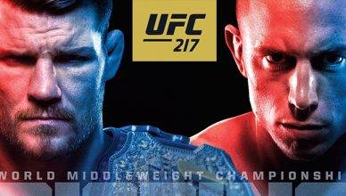UFC 217 from Madison Square Garden is a stacked card from top to bottom with Michael Bisping facing GSP for the middleweight title in the main event.