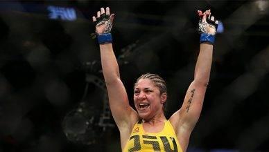 Popular UFC bantamweight contender Bethe Correia.