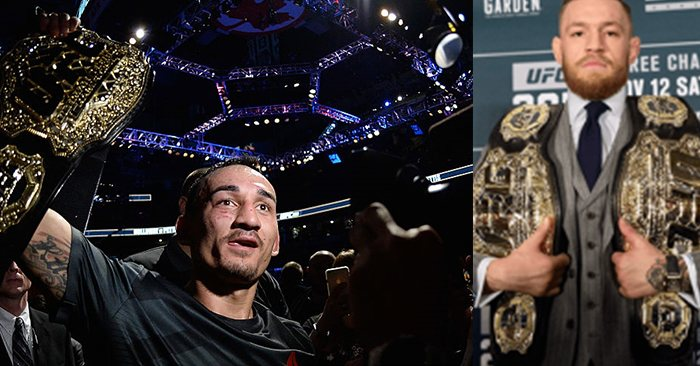 UFC featherweight champion Max Holloway would like to rematch Conor McGregor.